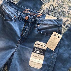 NWT Seven7 Jeans Ultra High Rise Skinny Sz 6